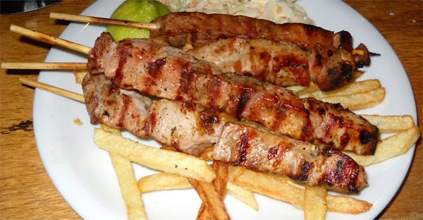 Souvlaki - Infos über die Fleischspieße aus Griechenland